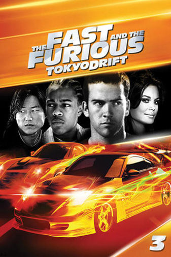 The Fast and the Furious: Tokyo Drift(Free Screen) Poster