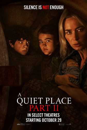 A Quiet Place Part II Poster
