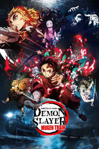 Demon Slayer the Movie (Dubbed in English) Poster