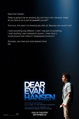 Dear Evan Hansen Poster