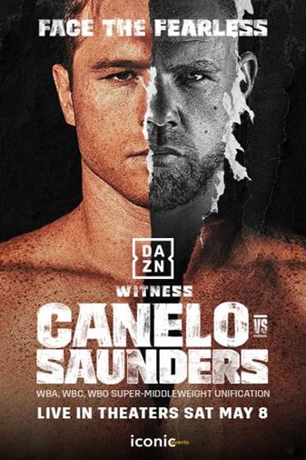 Canelo vs. Saunders Poster