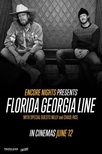 Florida Georgia Line From Encore Nights Poster