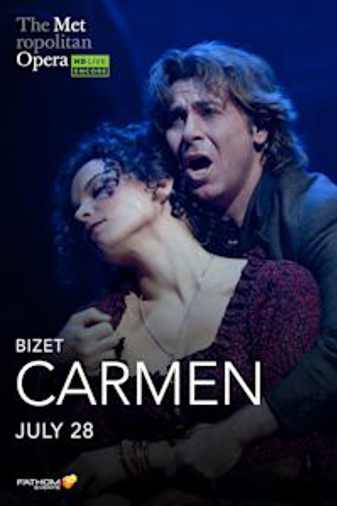 Met Summer Encore: Carmen Poster