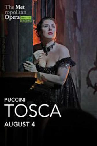 Met Summer Encore: Tosca Poster