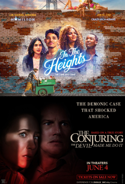Double Feature: In the Heights + The Conjuring: The Devil Made Me Do It