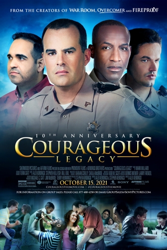 Courageous Legacy 10th Anniversay Poster